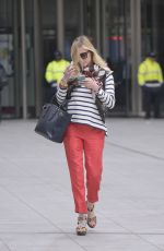 FEARNE COTTON Out and About in London 04/22/2015