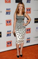 FRANCESCA EASTWOOD at 2015 Race to Erase MS Event in Century City