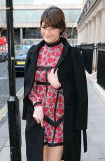 GEMMA ARTERTON Arrives at Olivier Awards Nominees Lunch in London