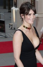 GEMMA ARTERTON at 2015 Oliver Awards in London