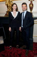 GEMMA ARTERTON at La Fille Mal Gardee Opening Night in London