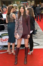 GEMMA CHAM at The Jameson Empire Awards 2015 in London
