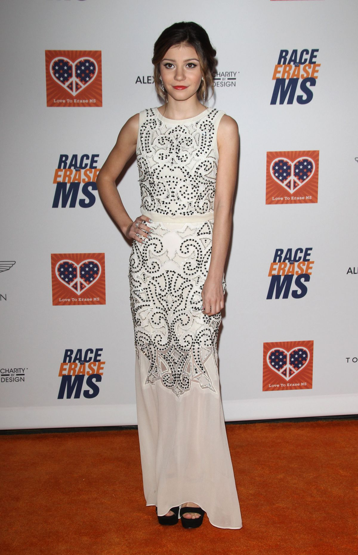GENEVIEVE HANNELIUS at 2015 Race to Erase MS Event in Century City