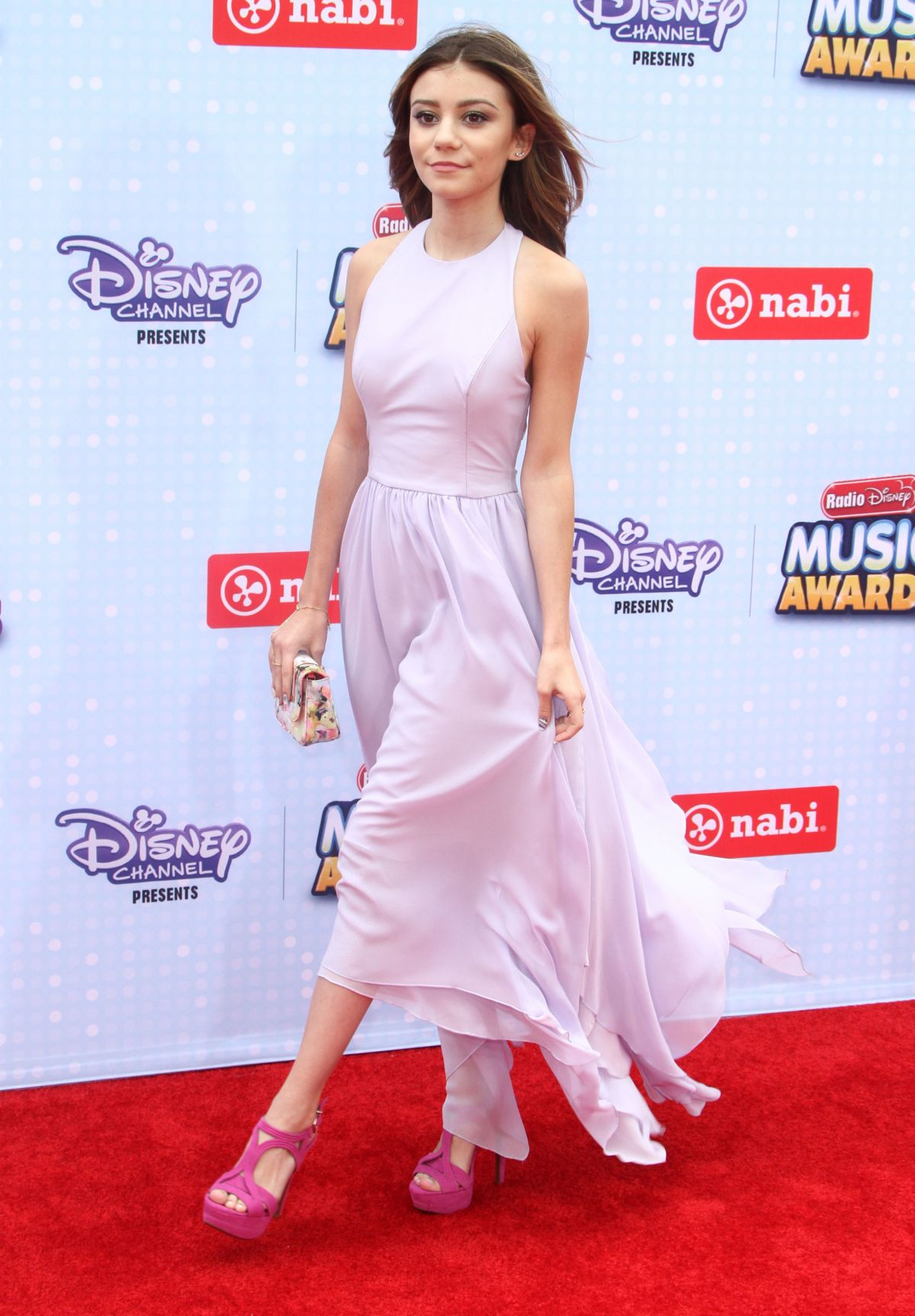 GENEVIEVE HANNELIUS at 2015 Radio Disney Music Awards in Los Angeles