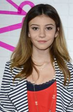 GENEVIEVE HANNELIUS at Justfab Ready-to-wear Launch Party in West Hollywood