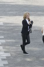 GEORGIA MAY JAGGER on the Set of Garnier Commercial in Paris