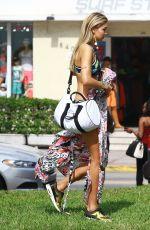 GIG HADID in Bikini on a Photoshoot in Miami 04/24/2015