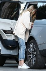 GIGI HADID Arrives at Her Hotel in Los Angeles