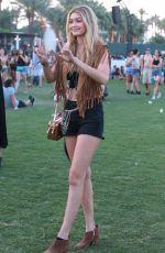 GIGI HADID at 2015 Coachella Music Festival, Day 2