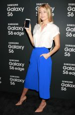 GIGI HADID at Samsung Galaxy S6 and S6 Edge Launch in New York