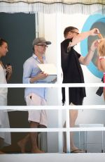GIGI HADID in Bikinis and Swimsuit on the Set of a Photoshoot in Miami