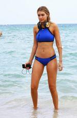 GIGI HADID in Bikinis at a Photoshoot in Miami 24/04/2015