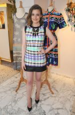 GILLIAN JACOBS at Novis Fall/Winter 2015 Ready-to-wear Collection in West Hollywood
