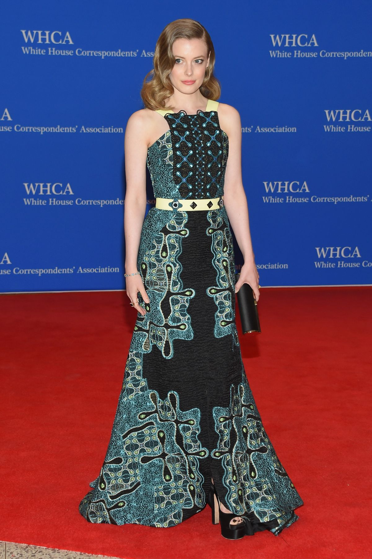 GILLIAN JACOBS at White House Correspondents Association Dinner in Washington