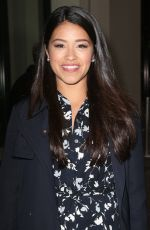 GINA RODRIGUEZ Out and About in New York 04/20/2015