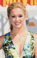 GREER GRAMMER at 2015 MTV Movie Awards in Los Angeles