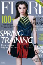 HAILEE STEINFELD in Flare Magazine, May 2015 Issue