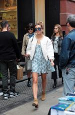 HAILEY BALDWIN Out and About in New York 04/28/2015