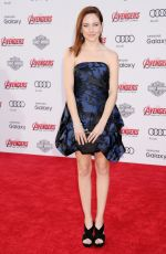 HALEY RAMM at Avengers: Age of Ultron Premiere in Hollywood