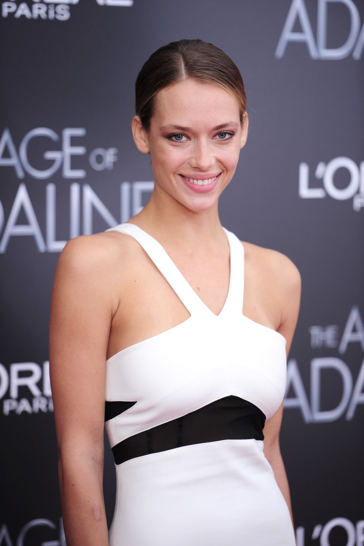 HANNAH FERGUSON at The Age of Adaline Premiere in New York