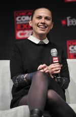 HAYLEY ATWELL at c2e2 Chicago Comic and Entertainment Expo