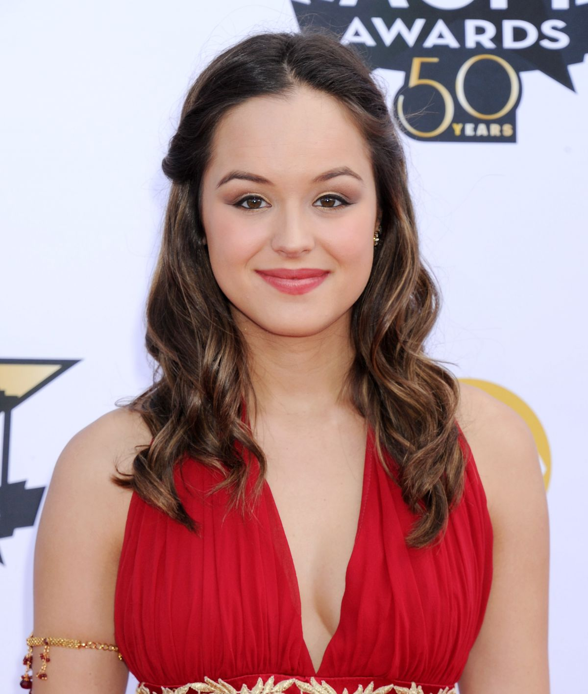 HAYLEY ORRANTIA at Academy of Country Music Awards 2015 in Arlington