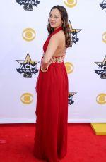 HAYLEY ORRANTIA at Academy of Country Music Awards 2015 in Arlington