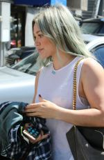 HILARY DUFF Arrives at a Dance Studio in Los Angeles