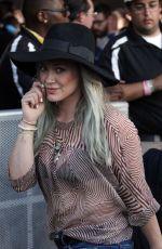 HILARY DUFF at 2015 Coachella Music Festival, Day 2