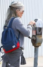 HILARY DUFF Out for Breakfast in West Hollywood 04/25/2015
