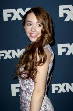 HOLLY TAYLOR at FX Bowling Party in New York
