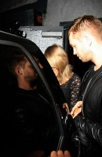 TAYLOR SWIFT and Calvin Harris Night Out in West Hollywood