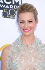 BETH BEHRS at Academy of Country Music Awards 2015 in Arlington