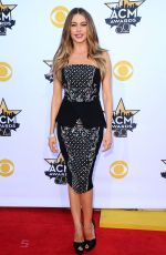 SOFIA VERGARA at Academy of Country Music Awards 2015 in Arlington