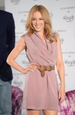 KYLIE MINOGUE at Sloggi Lingerie Q&A in Berlin