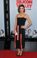 MARY ELIZABETH WINSTEAD at Silicon Valley Season 2 Premiere in Hollywood
