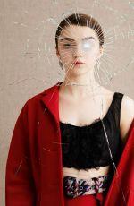MAISIE WILLIAMS in Dazed Magazine, Spring 2015 Issue