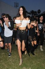 KENDALL JENNER at Coachella Music Festival, Day 2