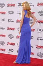 ADRIANNE PALICKI at Avengers: Age of Ultron Premiere in Hollywood