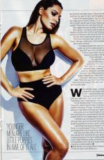 KELLY BROOK in Fabulous Magazine, April 2015 Issue
