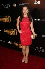 DANICA MCKELLAR at Dancing with the Stars 10th Anniversary in West Hollywood