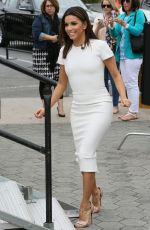 EVA LONGORIA on the Set of Extra in Los Angeles 04/22/2015