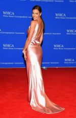 IRINA SHAYK at White House Correspondents Association Dinner in Washington