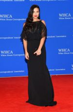 ADRIANA LIMA at White House Correspondents Association Dinner in Washington