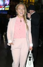 HAYDEN PANETTIERE on the Set of Good Morning America