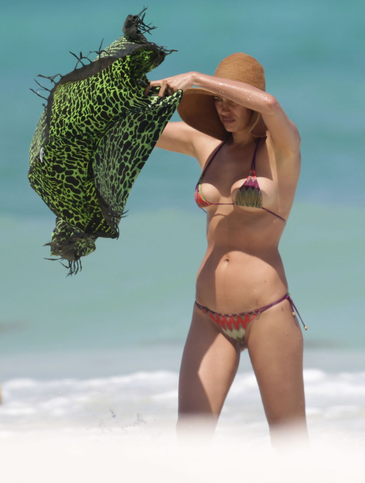 Irina Shayk In Bikini On The Beach Mexico 18
