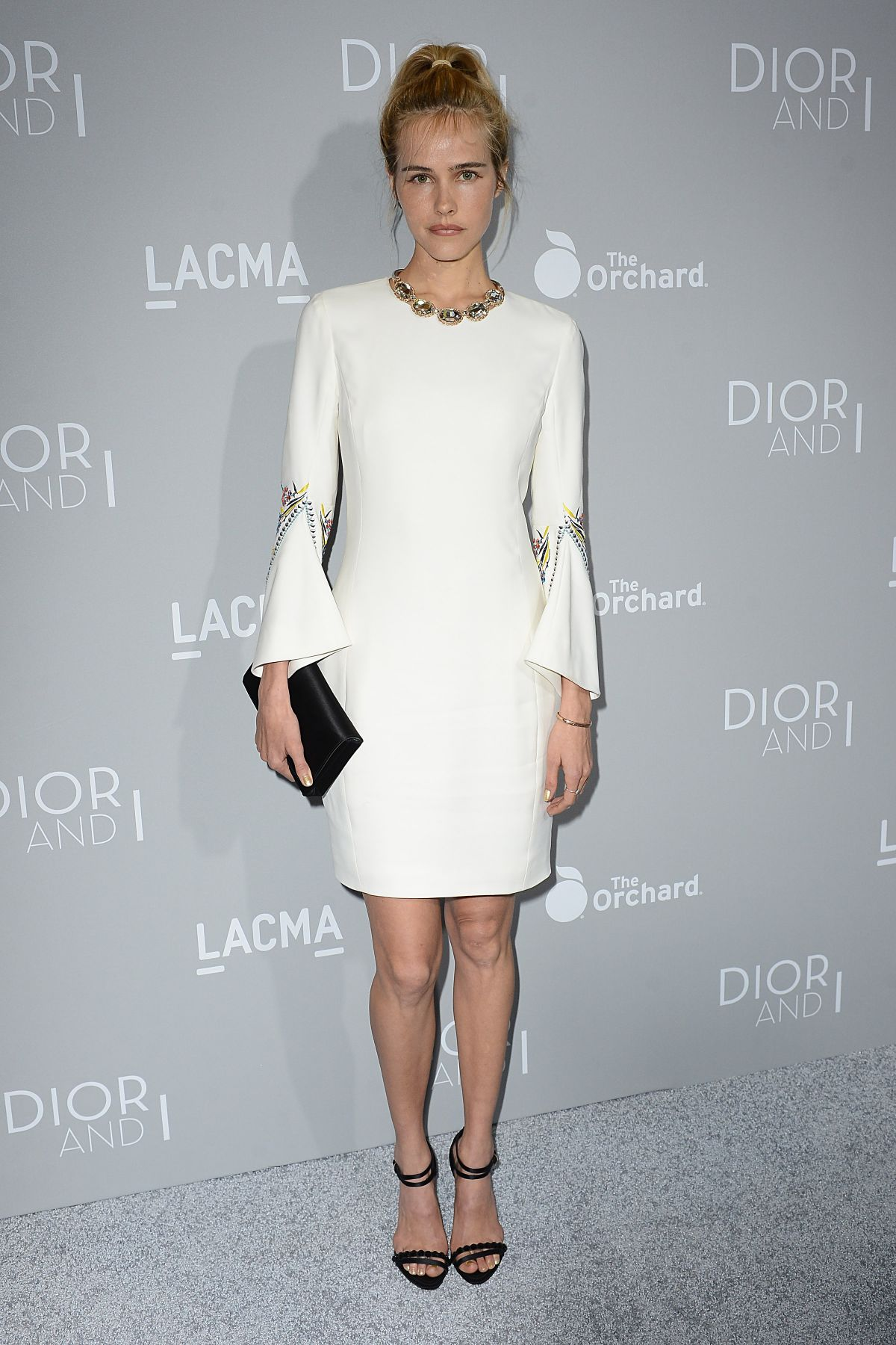 ISABEL LUCAS at Dior and I Premiere in Los Angeles