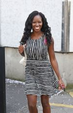 JAMELIA at ITV Studios in London