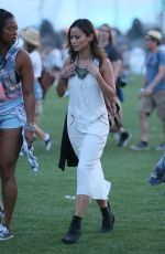 JAMIE CHUNG at 2015 Coachella Music Festival, Day 1