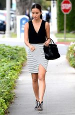 JAMIE CHUNG Out and About in Beverly Hills 04/23/2015